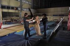 Director Glen MacKay, Vasiliki and Tierra